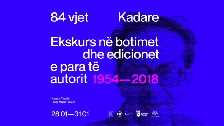 Ekskurs në edicionet e para të autorit, 1954-2018